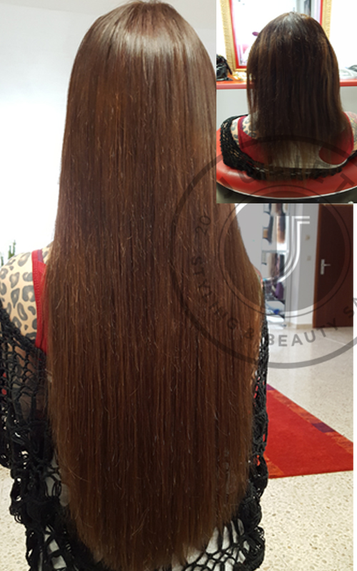 Haarverlängerung Korb